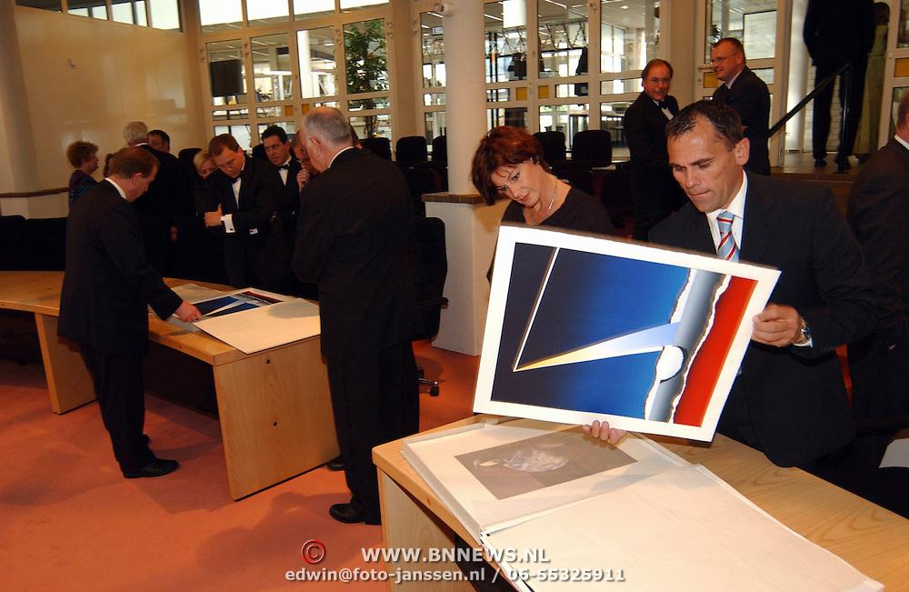 Expositie opening AIDS Europe Huizen,