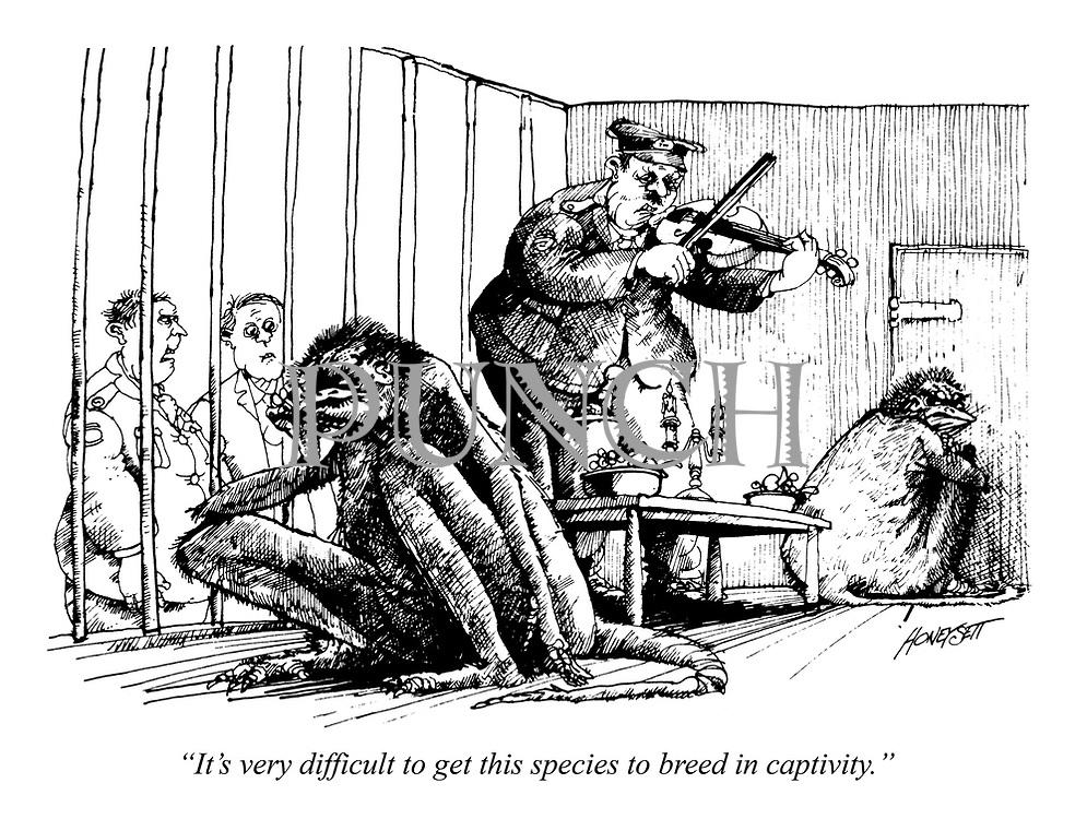 """""""It's very difficult to get this species to breed in captivity."""""""
