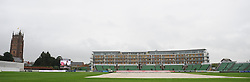 General view of the County Ground during the rain delay - Mandatory byline: Alex Davidson/JMP - 07966386802 - 24/08/2015 - Cricket - County Ground -Taunton,England - Somerset CCC v Worcestershire CCC - LV= County Championship Division One - Day 4