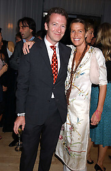 ASHLEY HICKS and his sister INDIA HICKS at party in aid of cancer charity Clic Sargent held at the Sanderson Hotel, Berners Street, London on 4th July 2005.<br /><br />NON EXCLUSIVE - WORLD RIGHTS