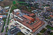 Nederland, Limburg, Gemeente Echt-Susteren, 15-11-2010; Echt, Limburgse Mineraalbrekerij aan de Sint Janskamp..Limburg Mineral Crushing in Echt, Limburg..luchtfoto (toeslag), aerial photo (additional fee required).copyright foto/photo Siebe Swart