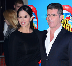 Lauren Silverman with Simon Cowell attends the press night performance of 'I Can't Sing! The X Factor Musical' at the London Palladium, London, United Kingdom. Wednesday, 26th March 2014. Picture by Nils Jorgensen / i-Images