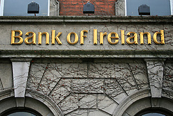 Bank of Ireland, St Stephen's Green Dublin © London News Pictures 10/01/2011.Irish Prime Minister Brian Cowen is under pressure over his relationship with former Anglo Irish Bank chairman Sen FitzPatrick. Anglo Irish Bank was taken into state ownership in January 2009 and is the largest contributor of assets to the Irish National Asset Management Agency. Picture caption should read Simon Lamrock/LNP