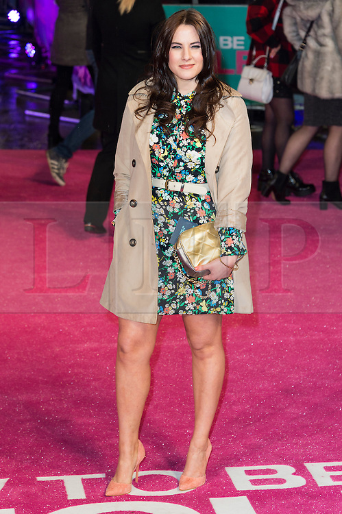 &copy; Licensed to London News Pictures. 09/02/2016. London, UK. KAT SHOOB attends the UK film premiere of 'How To Be Single'.  The film is about a woman writing a book about bacherlorettes who becomes embroiled in an international affair while researching abroad<br /> Photo credit: Ray Tang/LNP