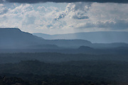 Tepuis (Flat-topped mountains)<br /> Kupinang<br /> Potaro-Siparuni Region<br /> Brazil Guyana border<br /> GUYANA<br /> South America
