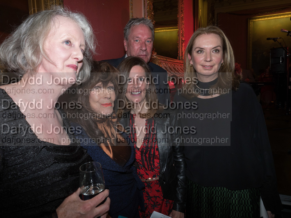 Literary Review Christmas drinks and  Bad Sex in fiction Awards, In and Out club. St. James's Sq. London. 30 November 2017