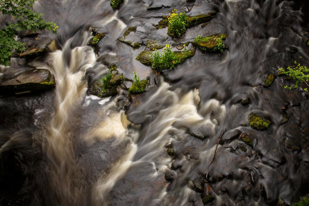 Water runs down the Livet River near The Glenlivet Distillery in Glenlivet, Ballindaloch, Scotland, July 11, 2015. Gary He/DRAMBOX MEDIA LIBRARY