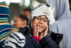 Local students from Mare Island Elementary School were among the hundreds to celebrate the official opening of the Allied Defense Recycling, Mare Island Dry Docks.