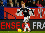 Ryan Woods of Brentford during the Sky Bet Championship match between Bolton Wanderers and Brentford at the Macron Stadium, Bolton<br /> Picture by Mark D Fuller/Focus Images Ltd +44 7774 216216<br /> 30/11/2015