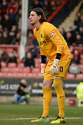 Orient's Eldin Jakupovc  - Photo mandatory by-line: Mitchell Gunn/JMP - Tel: Mobile: 07966 386802 22/02/2014 - SPORT - FOOTBALL - Brisbane Road - Leyton - Leyton Orient V Swindon Town - League One