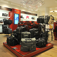 29.03.2012.Photographs of the new TUMI concession inside Selfridges on Oxford Street in London. .© Blake-Ezra Cole / www.blakeezracole.com / +44 (0) 7814 745512 - STRICTLY NOT FOR COMMERCIAL USE. .