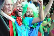 DESCRIZIONE : Lille Eurobasket 2015 Quarti di Finale Quarter Finals Lituania Italia Lithuania Italy<br /> GIOCATORE : tifosi supporters Italia Italy<br /> CATEGORIA : tifosi supporters fans<br /> SQUADRA : Italia Italy<br /> EVENTO : Eurobasket 2015 <br /> GARA : Lituania Italia Lithuania Italy<br /> DATA : 16/09/2015 <br /> SPORT : Pallacanestro <br /> AUTORE : Agenzia Ciamillo-Castoria/M.Marchi<br /> Galleria : Eurobasket 2015 <br /> Fotonotizia : Lille Eurobasket 2015 Quarti di Finale Quarter Finals Lituania Italia Lithuania Italy