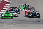May 4-6, 2017: IMSA Sportscar Showdown at Circuit of the Americas. Start of the IMSA prototype race with 10 Wayne Taylor Racing, DPi, Ricky Taylor, Jordan Taylor leading from pole