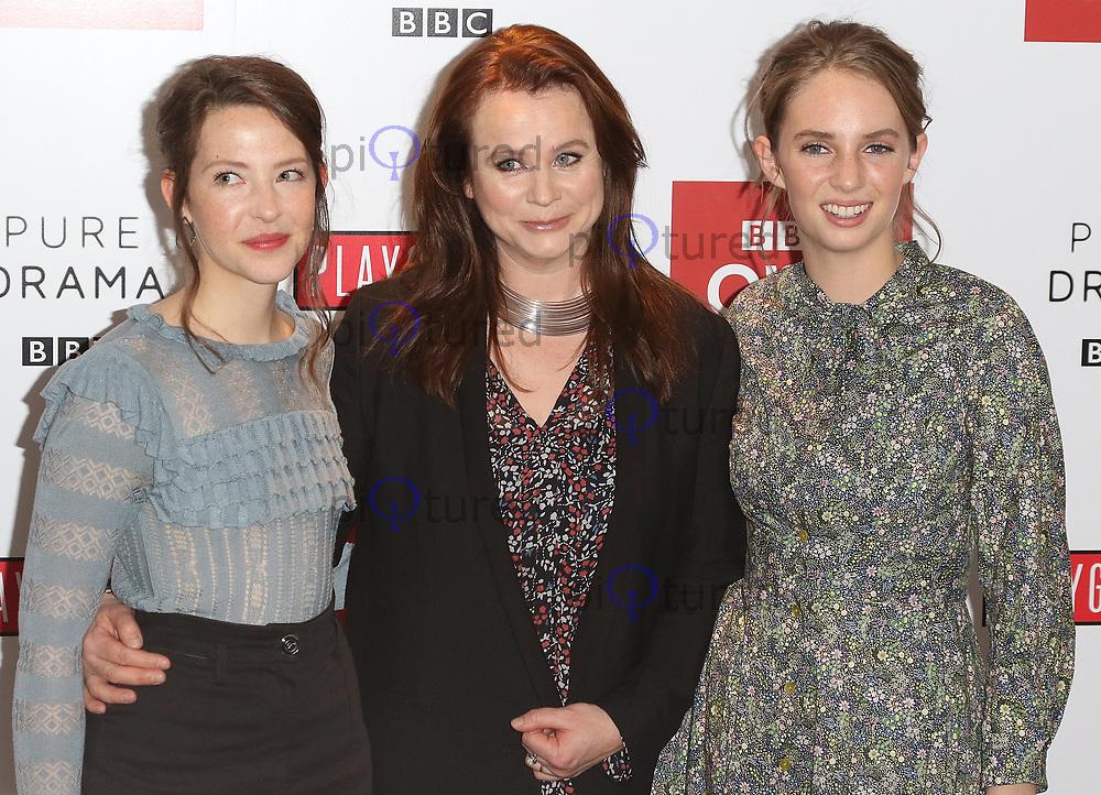 Annes Elwy, Emily Watson, Maya Thurman-Hawke, Little Women - Special Q&A Screening, The Soho Hotel, London UK, 11 December 2017, Photo by Richard Goldschmidt