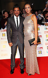 Peter Andre and Emily McDonough arriving at the Pride of Britain Awards in London,  Monday, 7th October 2013. Picture by Stephen Lock / i-Images