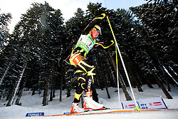 Marie Dorin of France during the Mixed 2x6 + 2x7,5km relay of the e.on IBU Biathlon World Cup on Saturday, December 19, 2010 in Pokljuka, Slovenia. The fourth e.on IBU World Cup stage is taking place in Rudno polje - Pokljuka, Slovenia until Sunday December 19, 2010. (Photo By Vid Ponikvar / Sportida.com)