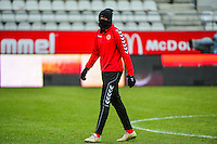 Chrys MAVINGA - 25.01.2015 - Reims / Lens  - 22eme journee de Ligue1<br /> Photo : Dave Winter / Icon Sport *** Local Caption ***