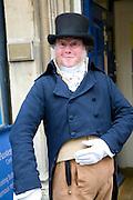 Georgian gentleman, Jane Austen centre, Bath