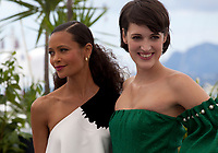 Actress Thandie Newton<br /> and Phoebe Waller-Bridge at the Solo: A Star Wars Story film photo call at the 71st Cannes Film Festival, Tuesday 15th May 2018, Cannes, France. Photo credit: Doreen Kennedy