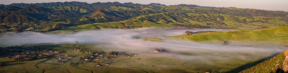 San Luis Obispo View from Bishop Creek
