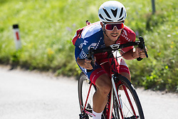 Ziga Horvat of Adria Mobil at Slovenian Road Cyling Championship 2019 on June 30, 2019 in Radovljica, Slovenia. Photo by Peter Podobnik / Sportida.