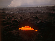 Skylight, lava tube, Kilauea Volcano, HVNP, Island of Hawaii