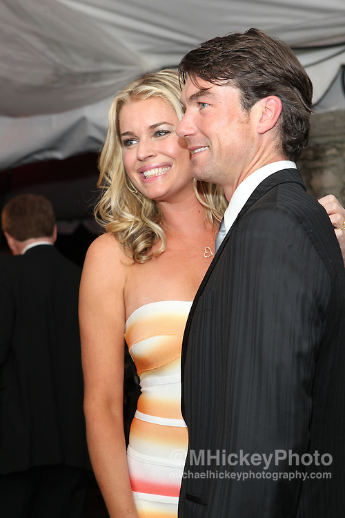 Rebecca Romijn and Jerry O'Connell seen at the Barnstable Brown Gala in Louisville, Kentucky.