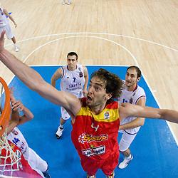 20090907: Basketball - Spain vs Serbia at Eurobasket 2009, Group C, Warsaw, Poland