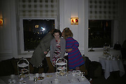 Marie Platt,Stephanie Lundell and  Cozmo Jencks . Tea party to celebrate  the opening of the Buccellati  shop in Albermarle St. hosted by Charles Finch. Browns Hotel. 13 February 2007.   -DO NOT ARCHIVE-© Copyright Photograph by Dafydd Jones. 248 Clapham Rd. London SW9 0PZ. Tel 0207 820 0771. www.dafjones.com.