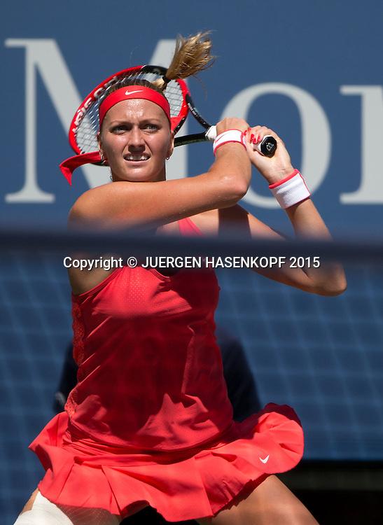 Petra Kvitova(CZE)<br /> <br /> Tennis - US Open 2015 - Grand Slam ITF / ATP / WTA -  Flushing Meadows - New York - New York - USA  - 5 September 2015.