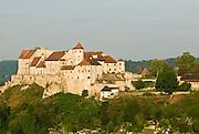 Burg zu Burghausen, Burghausen, Bayern, Deutschland.. | ..Burghausen Castle, Bavaria, Germany