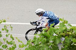 Tayler Wiles (USA) during Stage 6 of 2019 Giro Rosa Iccrea, a 12.1 km individual time trial from Chiuro to Teglio, Italy on July 10, 2019. Photo by Sean Robinson/velofocus.com