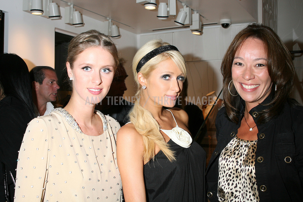 Nicky Hilton, Paris Hilton, and Step Up Board Member Theresa Durham