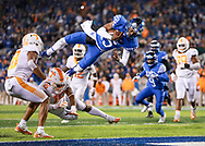 Stephen Johnson.<br /> <br /> The University of Kentucky football team beat Tennessee 29-26 on Saturday, October 28, 2017, at Kroger Field in Lexington, Ky.<br /> <br /> <br /> Photo by Elliott Hess | UK Athletics