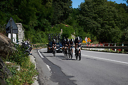 at Giro Rosa 2018 - Stage 1, a 15.5 km team time trial in Verbania, Italy on July 6, 2018. Photo by Sean Robinson/velofocus.com