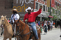 "5664, 5669 – The International Horsemen joined the parade.<br /> <br /> Hyde Park celebrated the holiday weekend with its annual 4th of July Parade which circled the neighborhood and finished in Nichols Park.<br /> <br /> Please 'Like' ""Spencer Bibbs Photography"" on Facebook.<br /> <br /> All rights to this photo are owned by Spencer Bibbs of Spencer Bibbs Photography and may only be used in any way shape or form, whole or in part with written permission by the owner of the photo, Spencer Bibbs.<br /> <br /> For all of your photography needs, please contact Spencer Bibbs at 773-895-4744. I can also be reached in the following ways:<br /> <br /> Website – www.spbdigitalconcepts.photoshelter.com<br /> <br /> Text - Text ""Spencer Bibbs"" to 72727<br /> <br /> Email – spencerbibbsphotography@yahoo.com"