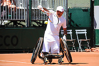 Stephane HOUDET - 04.06.2015 - Jour 12 - Roland Garros 2015 <br />Photo : Nolwen Le Gouic / Icon Sport
