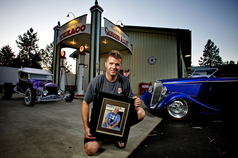 Russ Freund learned the craft of hot rod building from his father Claude Freund who died unexpectedly on April 27. This year's River City Rod Run is dedicated to the memory of Claude and the cars he's showcased over the years.