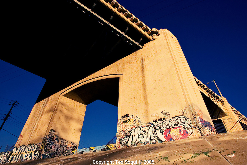 6th St. bridge over the LA River. Built in 1932.