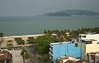 The Viet Nam city of Nha Trang in Southeast Asia is a booming new holiday center. It is a center for scuba diving fun and instruction.
