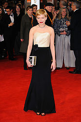 Michelle Williams arrive for the 2012 ORANGE BRITISH ACADEMY FILM AWARDS, The Bafta's at The Royal Opera House, Covent Garden, London. Photo By I-Images