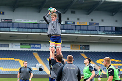 Tom Fawcett (Warwick School) of Worcester Warriors Under 18s - Mandatory by-line: Robbie Stephenson/JMP - 14/01/2018 - RUGBY - Sixways Stadium - Worcester, England - Worcester Warriors Under 18s v Yorkshire Carnegie Under 18s - Premiership Rugby U18 Academy