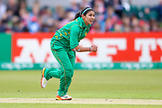 Pakistan womens cricket player Kainat Imtiaz in action  during the ICC Women's World Cup match between England and Pakistan at the Fischer County Ground, Grace Road, Leicester, United Kingdom on 27 June 2017. Photo by Simon Davies.
