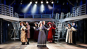 Titanic <br /> at The Charing Cross Theatre, London, Great Britain <br /> press photocall <br /> 3rd June 2016 <br /> <br /> Director Thom Southerland<br /> Musical Staging Cressida Carr&eacute;<br /> Musical Director Mark Aspinall<br /> Set &amp; Costume Designer David Woodhead<br /> Lighting Designer Howard Hudson<br /> Sound Designer Andrew Johnson<br /> <br /> <br /> <br /> Doing the latest rag <br /> the company <br /> <br /> <br /> <br /> Photograph by Elliott Franks <br /> Image licensed to Elliott Franks Photography Services