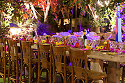 Room ready for a banquet party