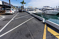Puerto Banus marina, Marbella, Spain - unlike a few years ago there's lot of parking. February, 2020, 202002122165<br />