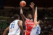 Nnoko Landry<br /> Red October Cantu' - Consultinvest Pesaro<br /> LegaBasket 2016/2017<br /> Desio 13/10/2016<br /> Foto Ciamillo-Castoria