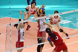 Japan Hitomi Nakamichi and Japan Miyu Nagaoka block