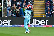Joe Root of England drops a catch from Shakib Al Hasan (vc) of Bangladesh during the ICC Cricket World Cup 2019 match between England and Bangladesh the Cardiff Wales Stadium at Sophia Gardens, Cardiff, Wales on 8 June 2019.