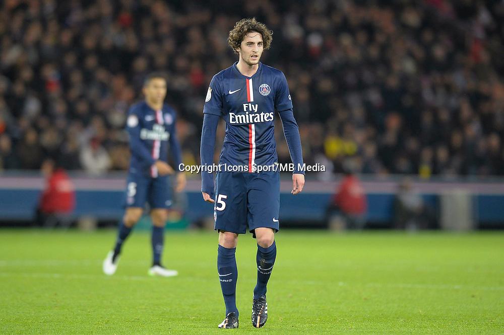 Adrien Rabiot - 06.12.2014 - PSG / Nantes - 17eme journee de Ligue 1<br />Photo : Andre Ferreira / Icon Sport